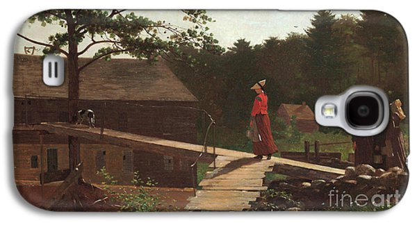 Old Mill, The Morning Bell, 1871 Galaxy S4 Case by Winslow Homer