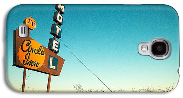 Old Motel Neon Galaxy S4 Case by Todd Klassy