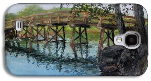 Old North Bridge In Pastel Galaxy S4 Case by Jack Skinner
