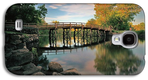 Old North Bridge Galaxy S4 Case by Rick Berk