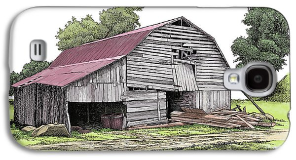 Old North Carolina Barn Galaxy S4 Case by Dave Olson