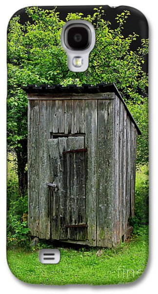 Old Outhouse Galaxy S4 Case by Esko Lindell