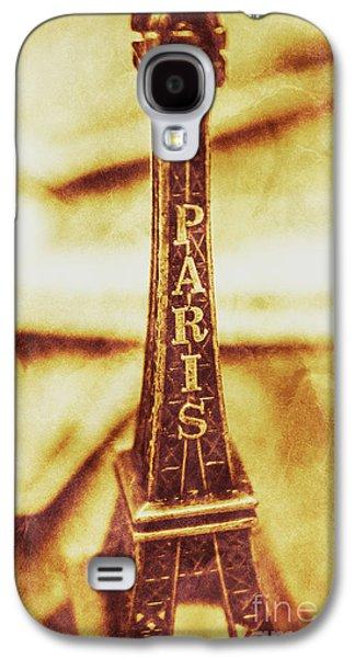 Old Paris Decor Galaxy S4 Case