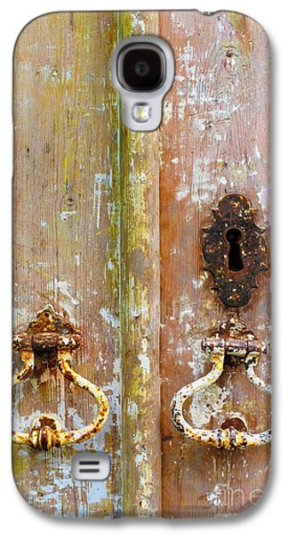 Old Peeling Door Galaxy S4 Case