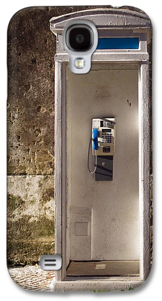 Communication Photographs Galaxy S4 Cases - Old phonebooth Galaxy S4 Case by Carlos Caetano