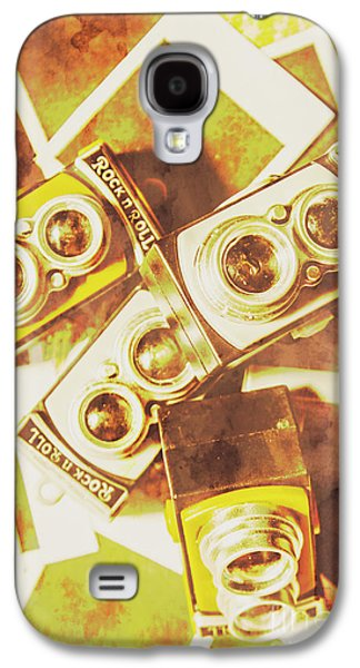 Old Photo Cameras Galaxy S4 Case by Jorgo Photography - Wall Art Gallery