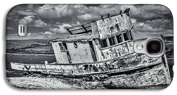 Old Point Reyes Black And White Galaxy S4 Case by Garry Gay