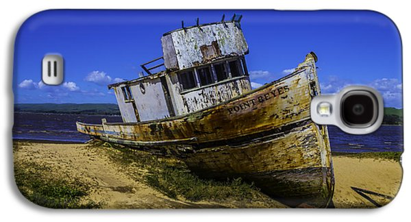 Old Point Reyes Boat Galaxy S4 Case by Garry Gay