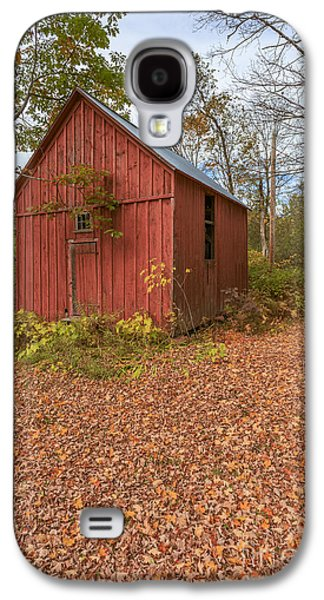 Old Red Barn Woodstock Vermont Galaxy S4 Case
