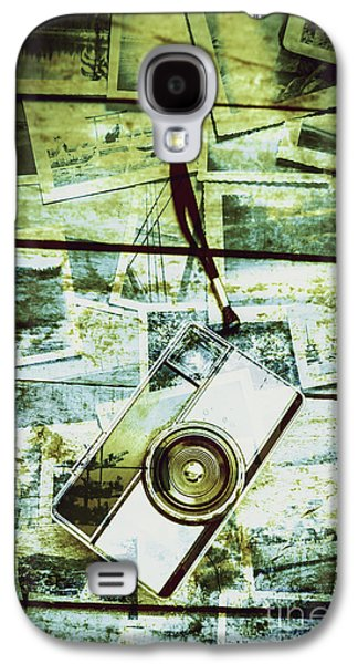 Old Retro Film Camera In Creative Composition Galaxy S4 Case by Jorgo Photography - Wall Art Gallery