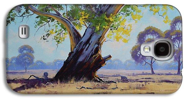 Old River Gum Australia Galaxy S4 Case by Graham Gercken
