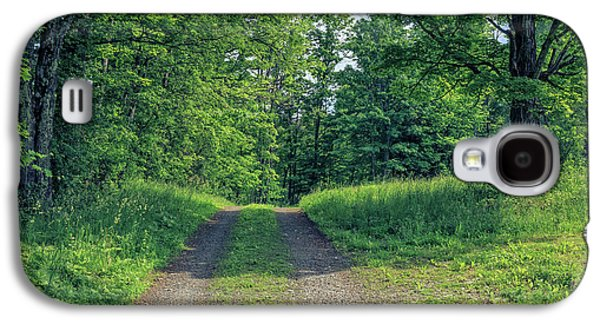 Old Road Through The Woods Galaxy S4 Case by Edward Fielding