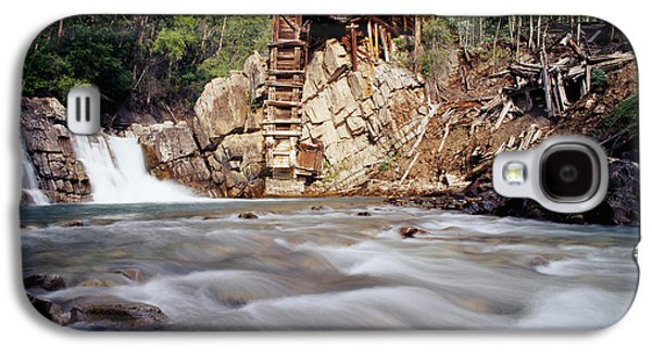 Old Saw Mill, Marble, Colorado, Usa Galaxy S4 Case by Panoramic Images