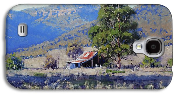 Old Shed Hartley Galaxy S4 Case by Graham Gercken