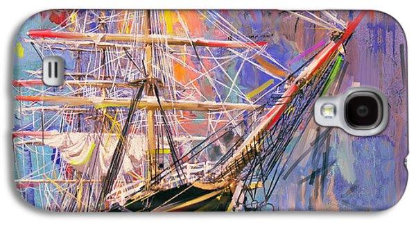 Old Ship 226 4 Galaxy S4 Case by Mawra Tahreem