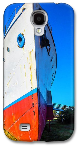 Old Ship Bow Galaxy S4 Case by Garry Gay