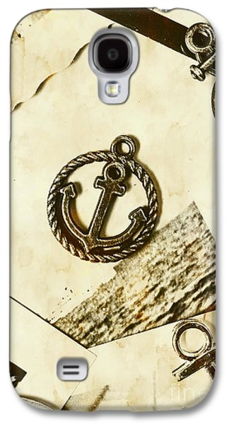 Old Shipping Emblem Galaxy S4 Case