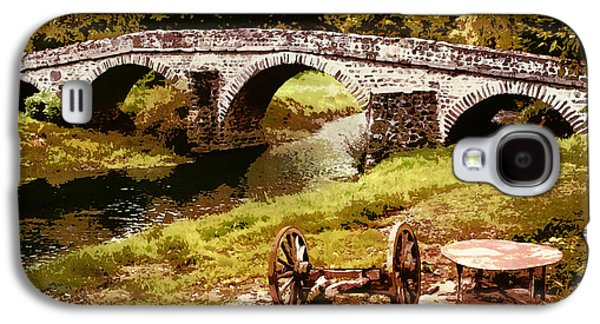 Old Stone Bridge In France Galaxy S4 Case