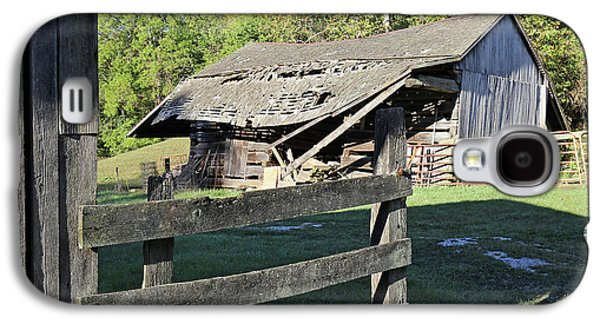 Old Tilted Barn Indiana Galaxy S4 Case