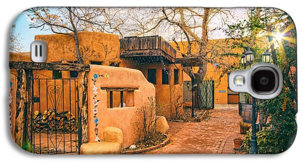 Old Town Albuquerque Secret Passageway  - Albuquerque New Mexico Galaxy S4 Case by Silvio Ligutti