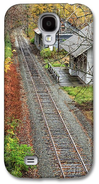 Old Train Station Norwich Vermont Galaxy S4 Case