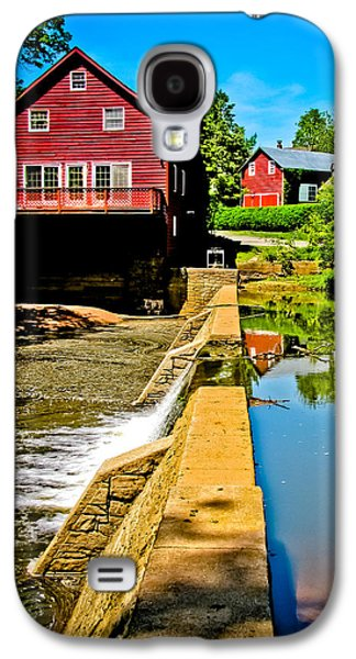 Old Village Grist Mill Galaxy S4 Case by Colleen Kammerer