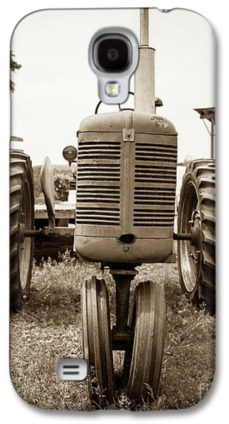 Old Vintage Tractor Cornish New Hampshire Galaxy S4 Case