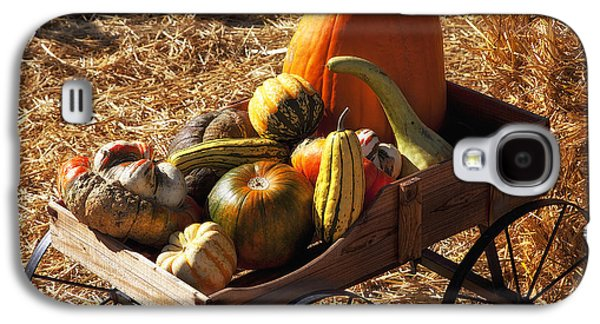 Old Wagon Full Of Autumn Fruit Galaxy S4 Case by Garry Gay