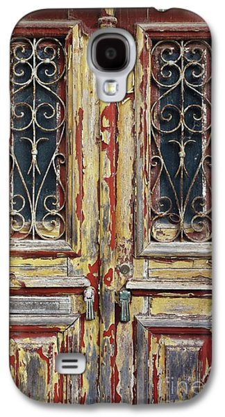 Old Wooden Doors Galaxy S4 Case