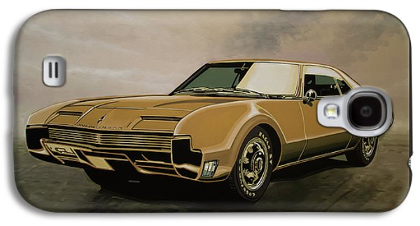 Falcon Galaxy S4 Case - Oldsmobile Toronado 1965 Painting by Paul Meijering