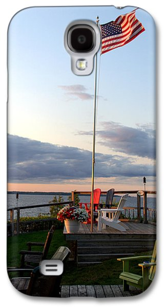 Ole Glory At Rossetti Point  Galaxy S4 Case by Mark Holden