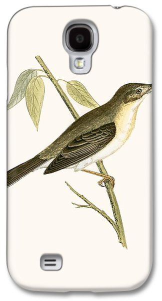 Olivaceous Warbler Galaxy S4 Case by English School