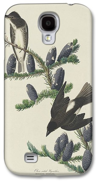 Flycatcher Galaxy S4 Case - Olive-sided Flycatcher by Dreyer Wildlife Print Collections