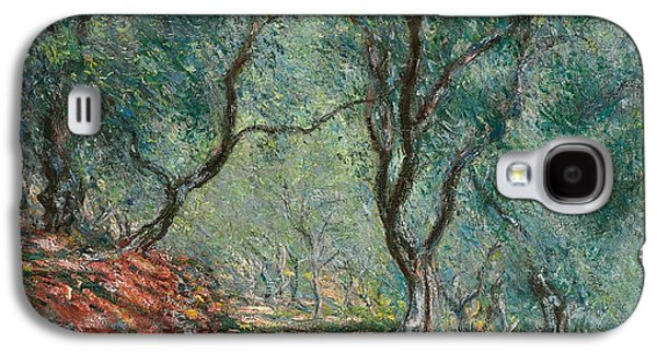 Olive Trees In The Moreno Garden Galaxy S4 Case by Claude Monet