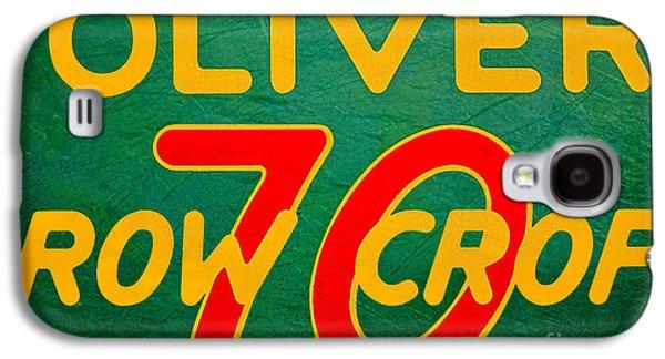 Oliver 70 Row Crop Galaxy S4 Case by Olivier Le Queinec