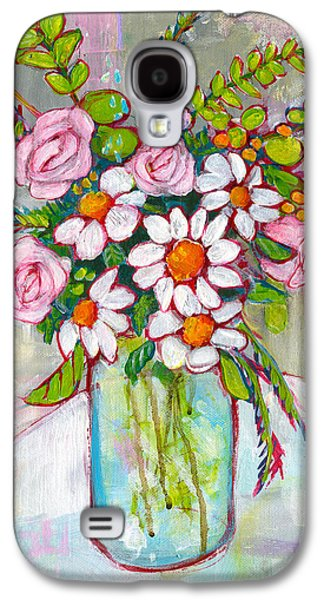 Olivia Daisy Flowers Galaxy S4 Case