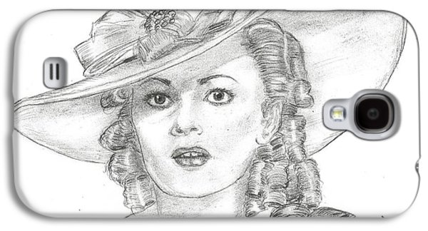 Olivia De Havilland Galaxy S4 Case by Steven White