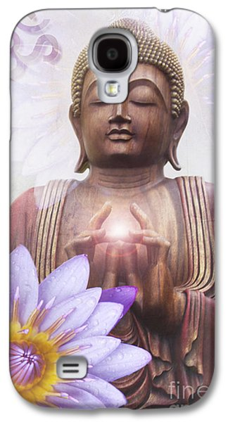 Om Mani Padme Hum - Buddha Lotus Galaxy S4 Case