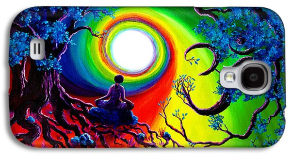 Om Tree Of Life Meditation Galaxy S4 Case