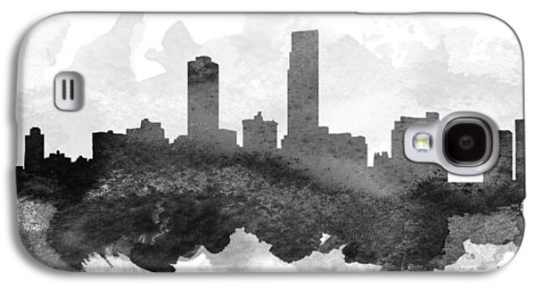 Omaha Cityscape 11 Galaxy S4 Case by Aged Pixel
