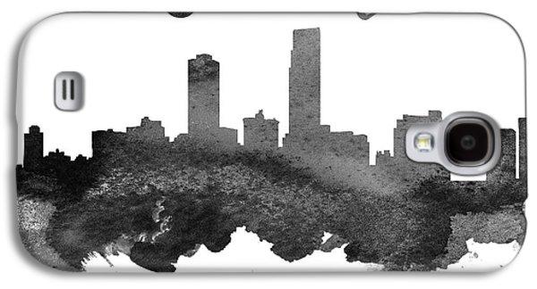 Omaha Nebraska Skyline 18 Galaxy S4 Case