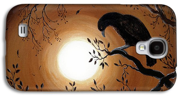 Ominous Bird Of Yore Galaxy S4 Case by Laura Iverson