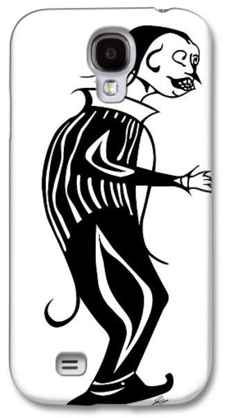 Creepy Digital Galaxy S4 Cases - Ominous Galaxy S4 Case by Jamie Lynn