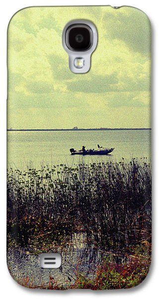 Boats In Water Galaxy S4 Cases - On a sunny Sunday afternoon Galaxy S4 Case by Susanne Van Hulst