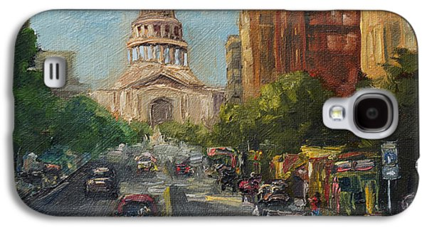 On Congress Galaxy S4 Case by Lisa  Spencer