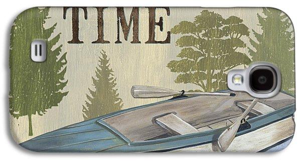 On Lake Time Galaxy S4 Case by Debbie DeWitt
