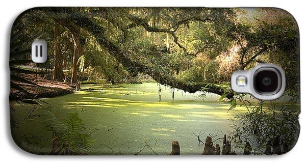 Alligator Galaxy S4 Case - On Swamp's Edge by Scott Pellegrin