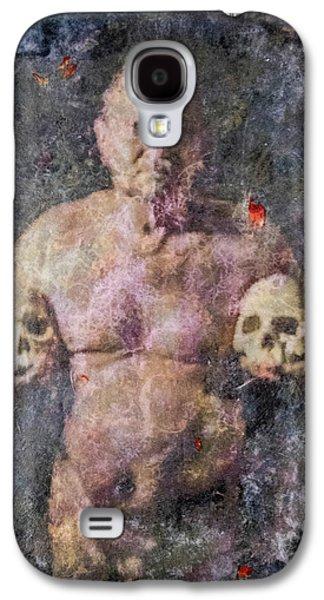 On The Altar Of Skull Carson #3. A Self-portrait, 2016 Galaxy S4 Case