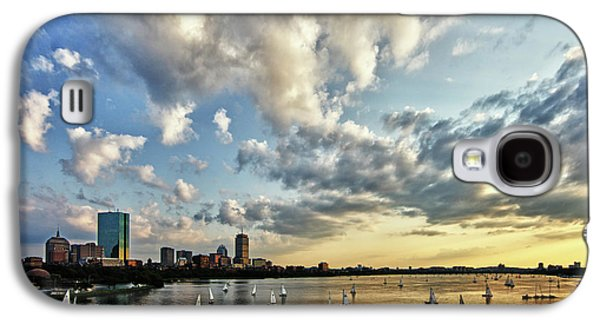 Hancock Building Galaxy S4 Case - On The Charles II by Rick Berk
