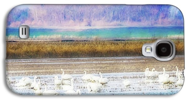 On The Delta Panorama Galaxy S4 Case by Terry Davis
